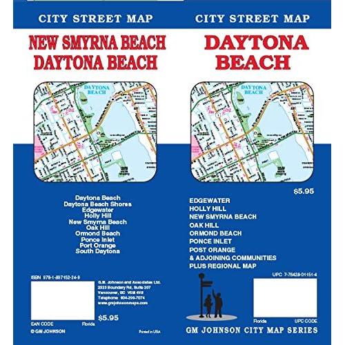 Daytona Beach FL Street Map: 9781897152249: Amazon.com: Books