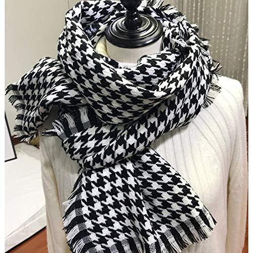 mlpnko Fashion England Plaid Schal Wilden Studenten Langen Herren Kragen Split Seite warmen großen Schal