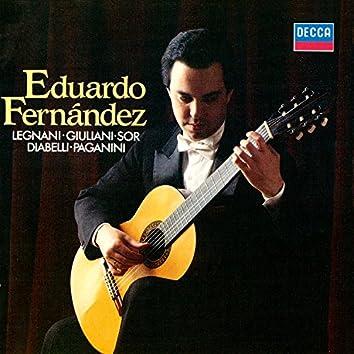 Legnani: Caprices / Giuliani: 3 Giulianate / Diabelli: Sonata In F Major / Paganini: Sonata In A Major etc
