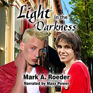 Light in the Darkness audiobook cover art