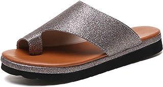 [ウルフbreath] 2019新しい夏の大きいサイズの女性の靴は爆発モデル着用革スリッパサンダルを望む