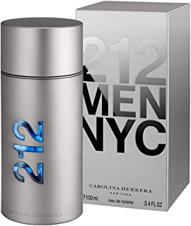 212 Men by Carolina Herrera for Men - Eau de Toilette, 100ml