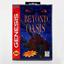 The Crowd Tradensen New 16 Bit Md Game Card - Beyond Oasis with Retail Box for Sega Genesis System