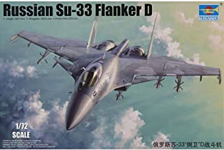 Qiyun New Trumpeter 1 72 Sukhoi Su 33 Flanker D Russian Fighter 1667