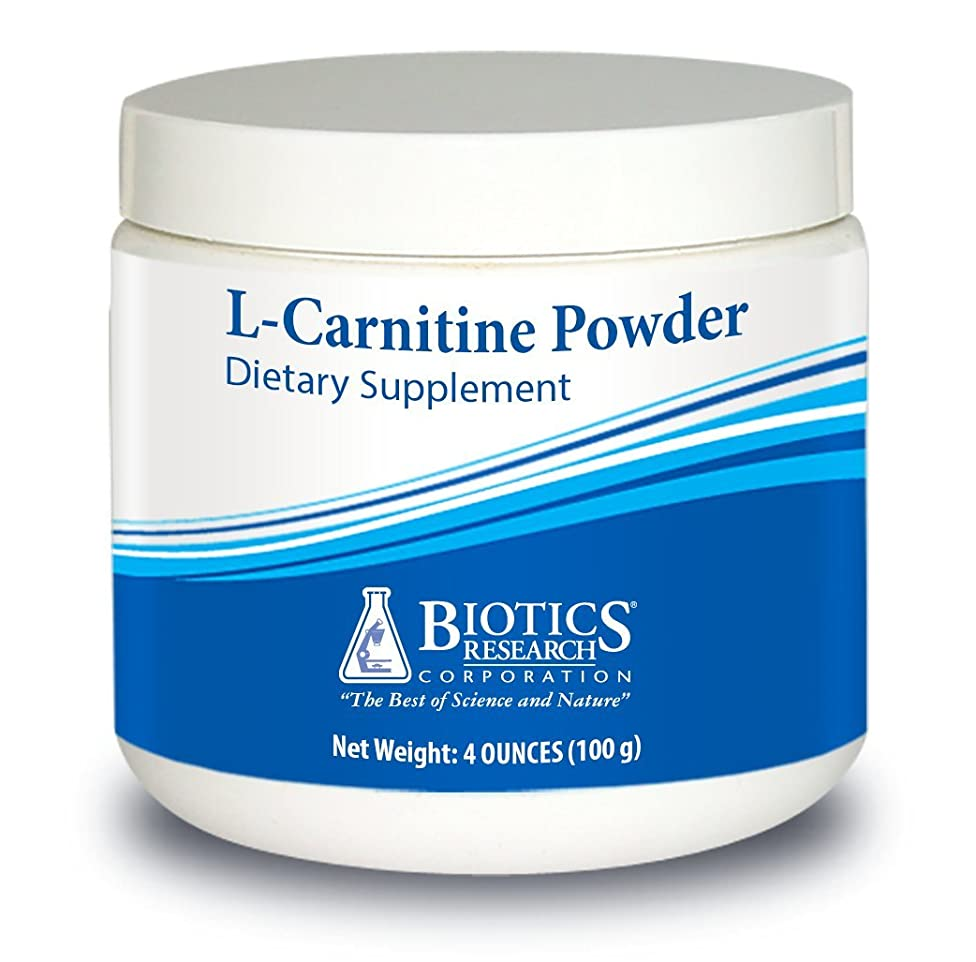 Biotics Research L-Carnitine Powder – Powdered formula, 1.7g per serving, Healthy Weight Management, Efficient Energy Production, Age Gracefully, Supports Cardiovascular System, Amino Acid 100g