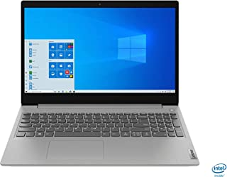 "Lenovo IdeaPad 3 15"" Laptop Intel Core i3 1005G1 8GB Memory 256GB SSD Platinum Gray 81WE011UUS, 15-15.99 inches"