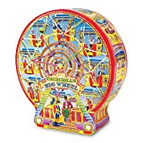 Churchill's Big Wheel Collectible Gift Tin With Petticoat Shortbread Biscuits