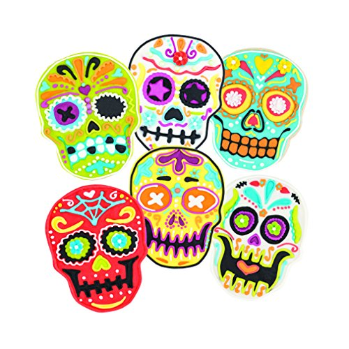 Skull Templates Reverse, Cookie Stamps with Cutter