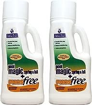 Natural Chemistry 2 05141 Spa Chemical Swimming Pool Magic PHOS Free - 1 Liter Each