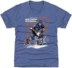500 LEVEL Mathew Barzal New York Hockey Kids Shirt - Mathew Barzal Offset