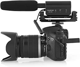 TAKSTAR Photography Interview Microphone Condenser Recording MIC 3.5mm Interface for Nikon Canon Sony DSLR Camera DV Camco...