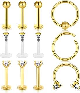 Best triple forward helix piercing price Reviews