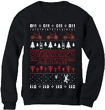 Tstars Merry Christmas The Upside Down Ugly Christmas Sweatshirt