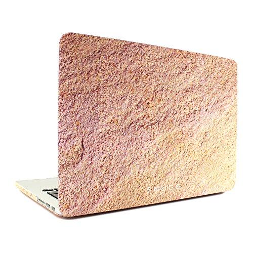 """Macbook Pro Custodia, Snugg Apple Macbook Pro Retina 13"""" Cover Case [Deluxe Satin Touch] Design Compatto Ultra-Sottile - Nero"""