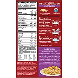 Rice A Roni, Stir Fried Rice Flavored, 6.2oz Box (Pack of 5)
