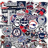 New England Vinyl Patriots Stickers Pack of 60 pcs 2-2,5 inch