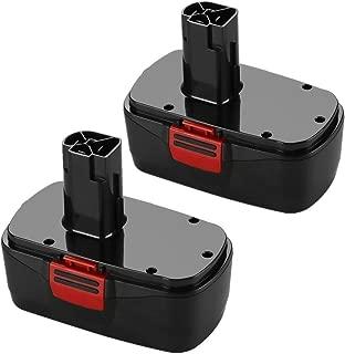 ENERMALL 2 Pack 3.0Ah Ni-MH for Craftsman 19.2 Volt Battery Diehard C3 11375 130279003 130279005 130279017 1323517 1323903 315.11375 315.11485 315.113753