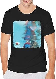 Frank Ocean Swim Good Man's Cotton Round Neck T-Shirt Black
