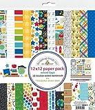 DOODLEBUG DESIGN SCHOOL DAYS PAPER 12X12 PACK