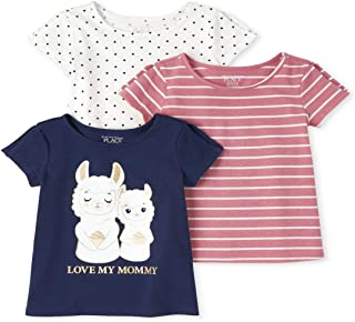 The Children's Place baby-girls Short Sleeve Fashion Tunics, Pack of Three Shirt