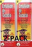Emulsion De Escocia Strawberry/Banana 6.5 Oz. Cod Liver Oil 2-Pack