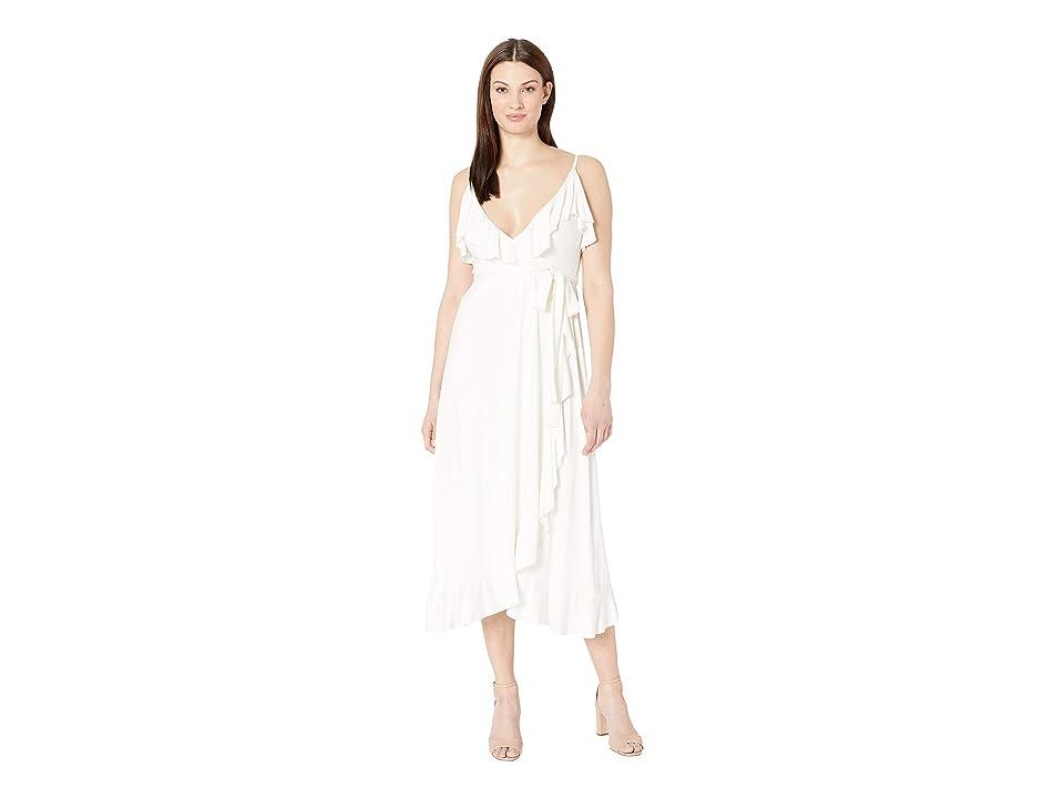 Rachel Pally Mid Length Lita Dress (White) Women