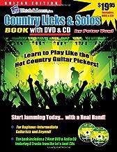 Country Guitar Licks & Solos Book - (DVD/CD)