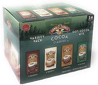 Land O Lakes Classics Instant Premium Hot Cocoa Assortment Box, 34 packets