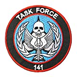 Ohrong Task Force 141 Call of Duty Embroidered Tactical Patches SAS Badge Emblem