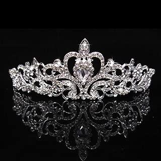 Simplylin_Rings Rings for Women Silicone Wedding Ring Nose Belly Button Women Men Wedding Bridal Diamante Crystal Headband Princess Hair Comb Tiara Bands Crown