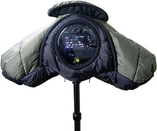 CamRebel の梅雨対策用品 三脚アクセサリー ダウン防寒カメラカバー 一眼レフ用 ポリエステル製 中綿ダウンフェザー