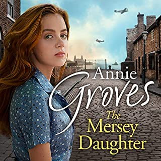 The Mersey Daughter audiobook cover art