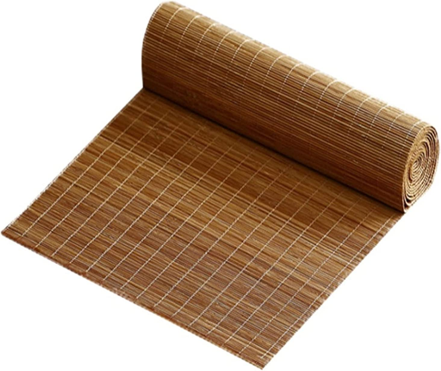 Industry No. 1 Table Cheap sale Runner Brown Solid Farmhouse Wood Heat-Resistant Placemat