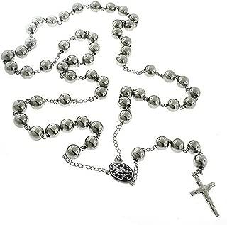 ToTeM Catholic Stainless Steel Rosary Beads 18