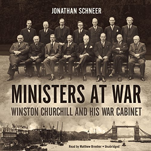 Ministers at War audiobook cover art