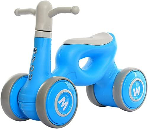 Obtén lo ultimo DSAEFG Baby Balance Bicicleta Bicicleta Caminante para bebés 1-3 1-3 1-3 años Sin pie Bebé 4 Ruedas Bicicleta Bicicleta Primer Regalo de cumpleaños ( Color   azul )  ventas en linea