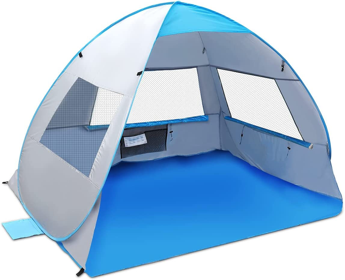 Large Pop Up Beach Tent New Anti Shelter Ranking TOP1 Finally resale start UV A Tents Sun Portable