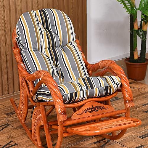 XFXDBT No-cojín De La Silla Basculante Slip,Espesar Cojines para Tumbonas Cojín De Asiento Relajante Patio Cojín De Jardín-G 55x140cm(22x55inch)