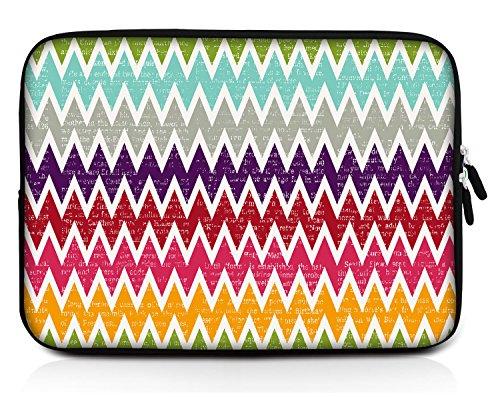 Sidorenko 7-8 Zoll Tablet Hülle für iPad / Samsung Galaxy Tab - Tasche aus Neopren, 42 Designer Hülle zur Auswahl