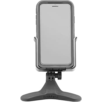 Amazon Com Weathertech Deskfone Universal Desktop Cell Phone Holder White 8adf7wh Electronics