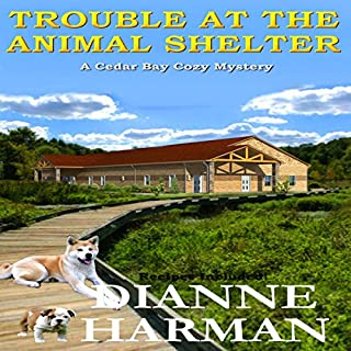 Trouble at the Animal Shelter audiobook cover art