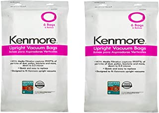 12 Bags for Kenmore Upright Vacuum 5068 50688 50690 Type U O Microlined