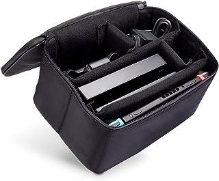 iDudu 収納ケース 大容量バッグ for Nintendo Switch (収納ケース, ブラック)