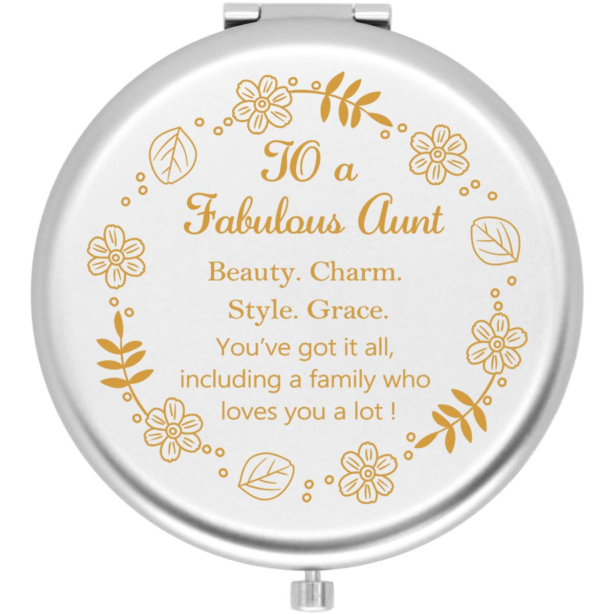 lowest price Onederful Aunt Gifts Travel Compact Pocket for Ranking TOP6 from Mirror