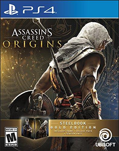 Assassin's Creed Origins - Steelbook Gold Edition (輸入版:北米) - PS4