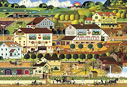 Buffalo Games - Charles Wysocki - Amish Country - 2000 Piece Jigsaw...