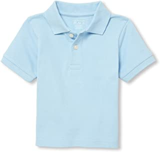 The Children's Place Baby Boys' Short Sleeve Uniform Polo