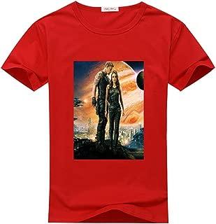 Newfits Custom Jupiter Ascending DIY T Shirts Design Womens Large Red