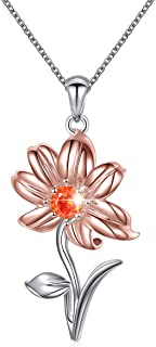 lily flower necklace