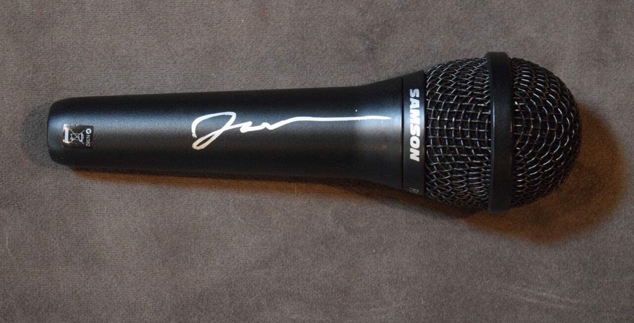 JOHN OLIVER SIGNED Dealing full price reduction AUTOGRAPHED MICROPHONE Regular discount TV WEEK HOST LAST TONI